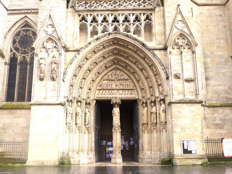 Portale entrata laterale cattedrale S. Andrea