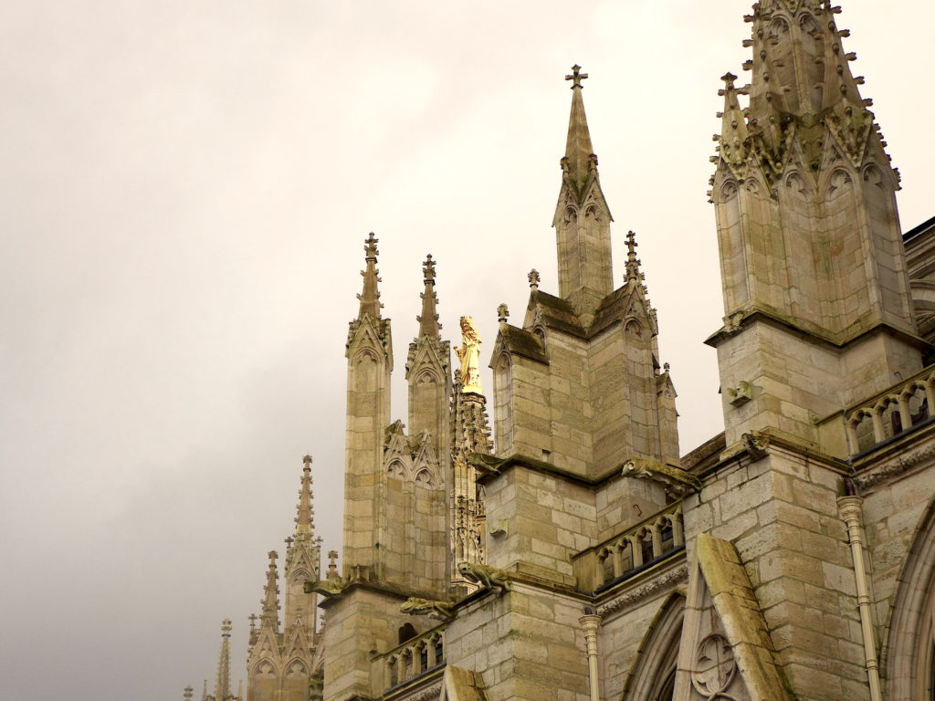 la 'Madunina' della cattedrale di S.Andrea a Bordeaux